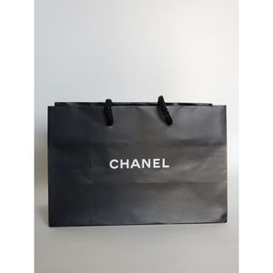 Chanel Black Shopping Bag